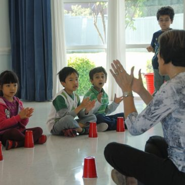 Plano preschool Spanish class