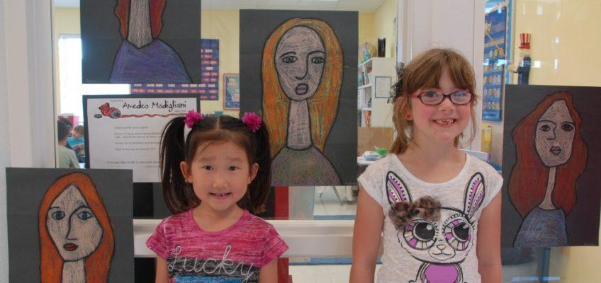 Plano Preschool Art